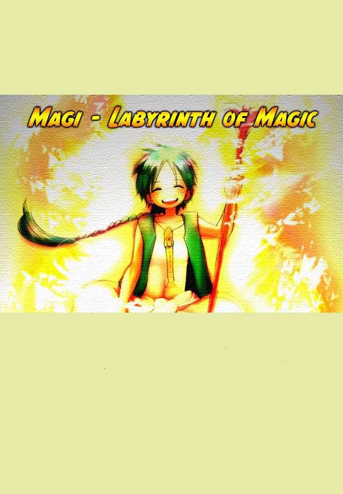 Magi The Labyrinth of magic chapter 23 trang 1