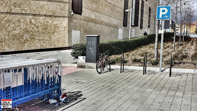 aparcabicis aparcamiento bicis salamanca
