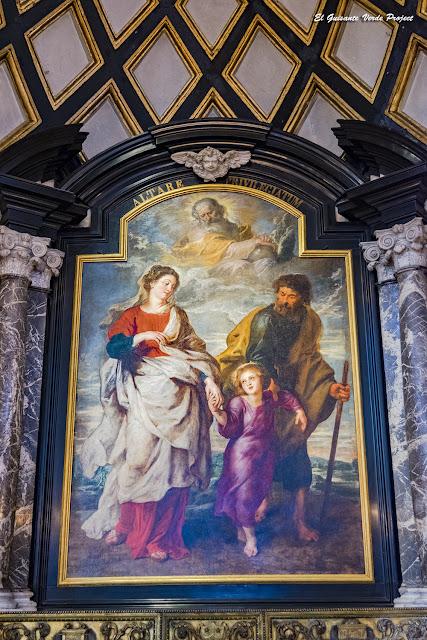 El Regreso de la Sagrada Familia (detalle), Iglesia S.Carlos Borromeo - Amberes, por El Guisante Verde Project
