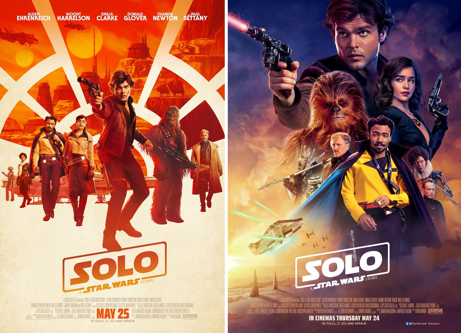 newest collection 70b62 a7b51 Solo  A Star Wars Story Final Movie Posters
