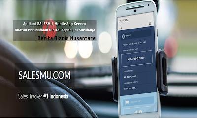 Aplikasi SALESMU, Mobile App Kerren Buatan Perusahaan Digital Agency di Surabaya