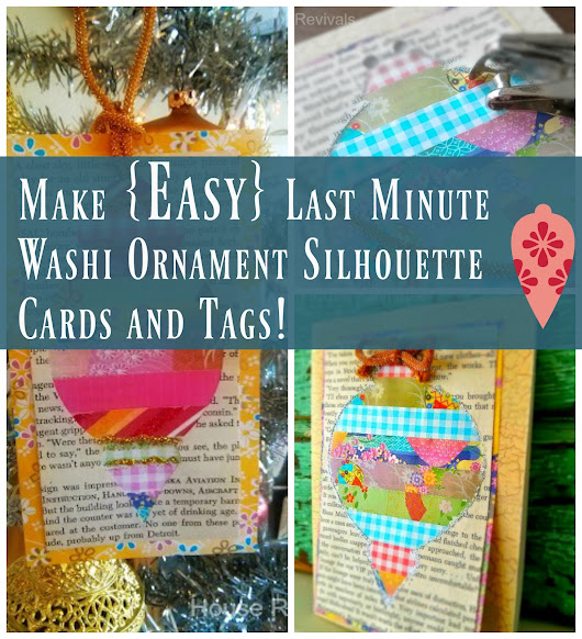 Easy Washi Tape Cards or Tags