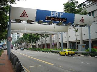 Electronic Road Pricing ERP atau Sistem Jalan Berbayar