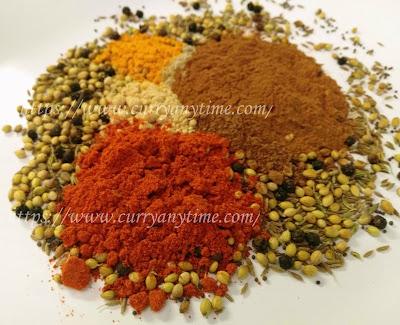 Madras Curry Powder Spice Mix