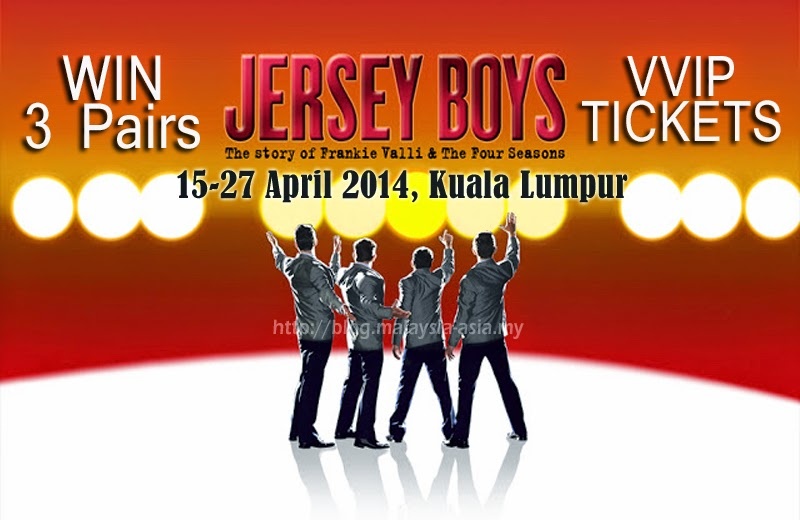 WIN 3 Pairs of Jersey Boys VVIP Tickets
