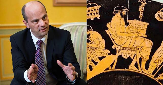 Υπουργός Παιδείας Γαλλίας: «Από τα Αρχαία Ελληνικά κατάγεται ο πολιτισμός μας»