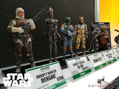 ARTFX+ Star Wars Bounty Hunters (Dengar, IG-88, Boba Fett, Bossk, 4-LOM, Zuckuss)