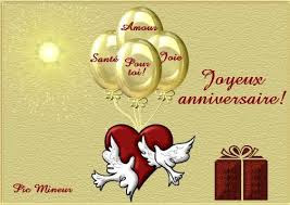 carte Joyeux Anniversaire Mon Amour