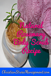 Rosemary body scrub recipe