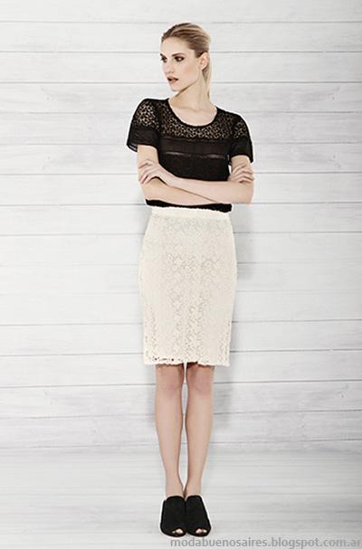 Carmela Achaval verano 2015 faldas.