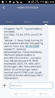 PT Toyota Boshoku Indonesia (PT. TBINA)