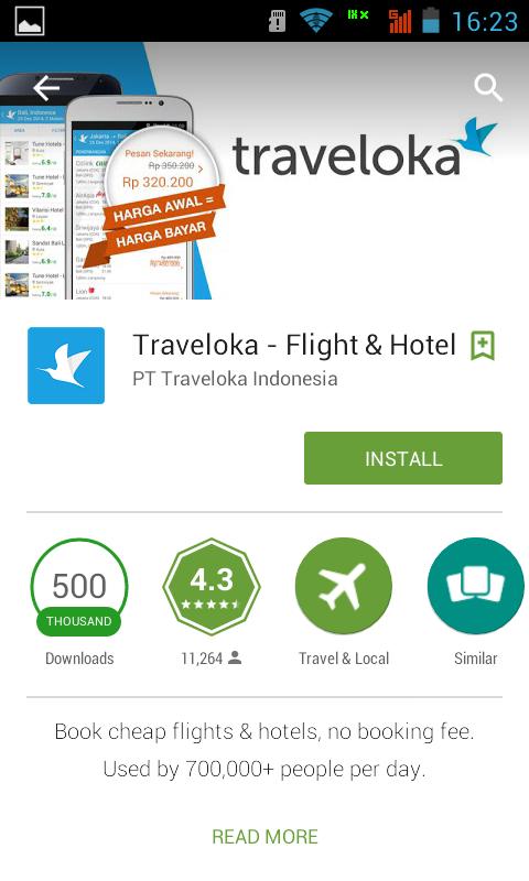 Aplikasi Android Terbaru 2015 - Traveloka