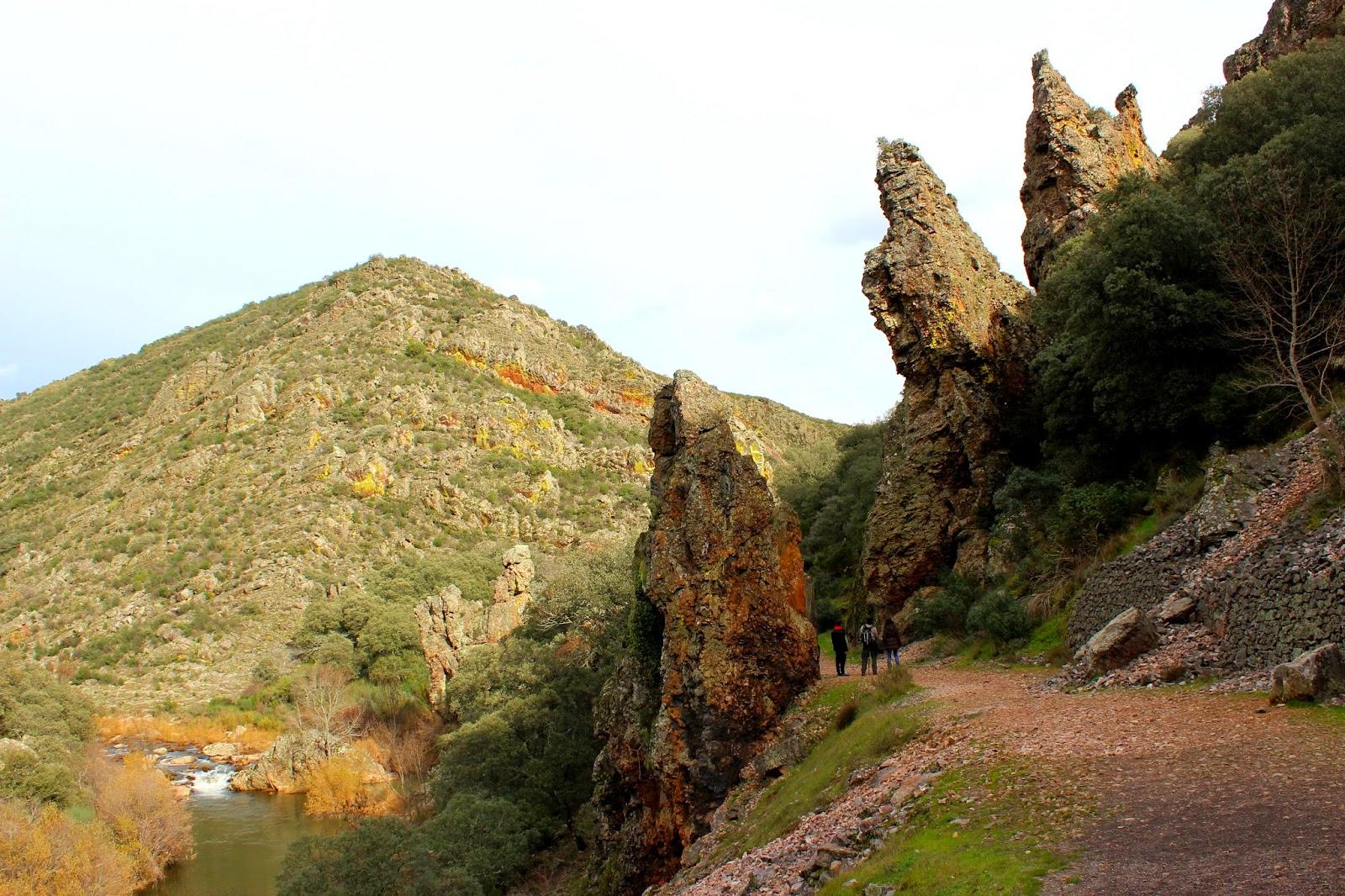 Torres de Estena-Ruta boquerón de Estena en Cabañeros