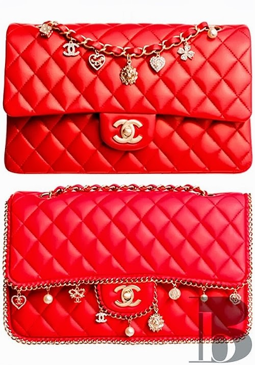 classic Chanel red 2.55 bag