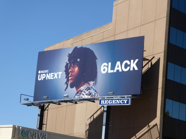 Apple Music Up Next 6lack billboard