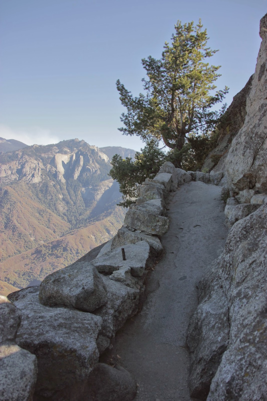 Path up to Moro Rock, Sequoia National Park