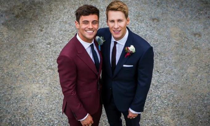 Tom Daley e Dustin Lance finalmente divulgam vídeo do casamento
