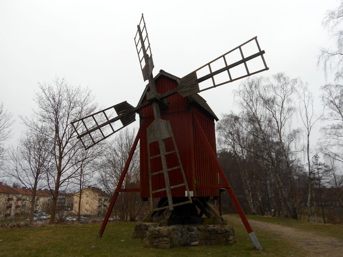 Mulino al parcheggio di Hässleholm