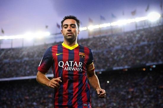 Xavi ra sân ngay từ đầu trong trận đấu cuối cùng ở La Liga