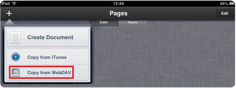 Working with Office documents on your iPad and saving them