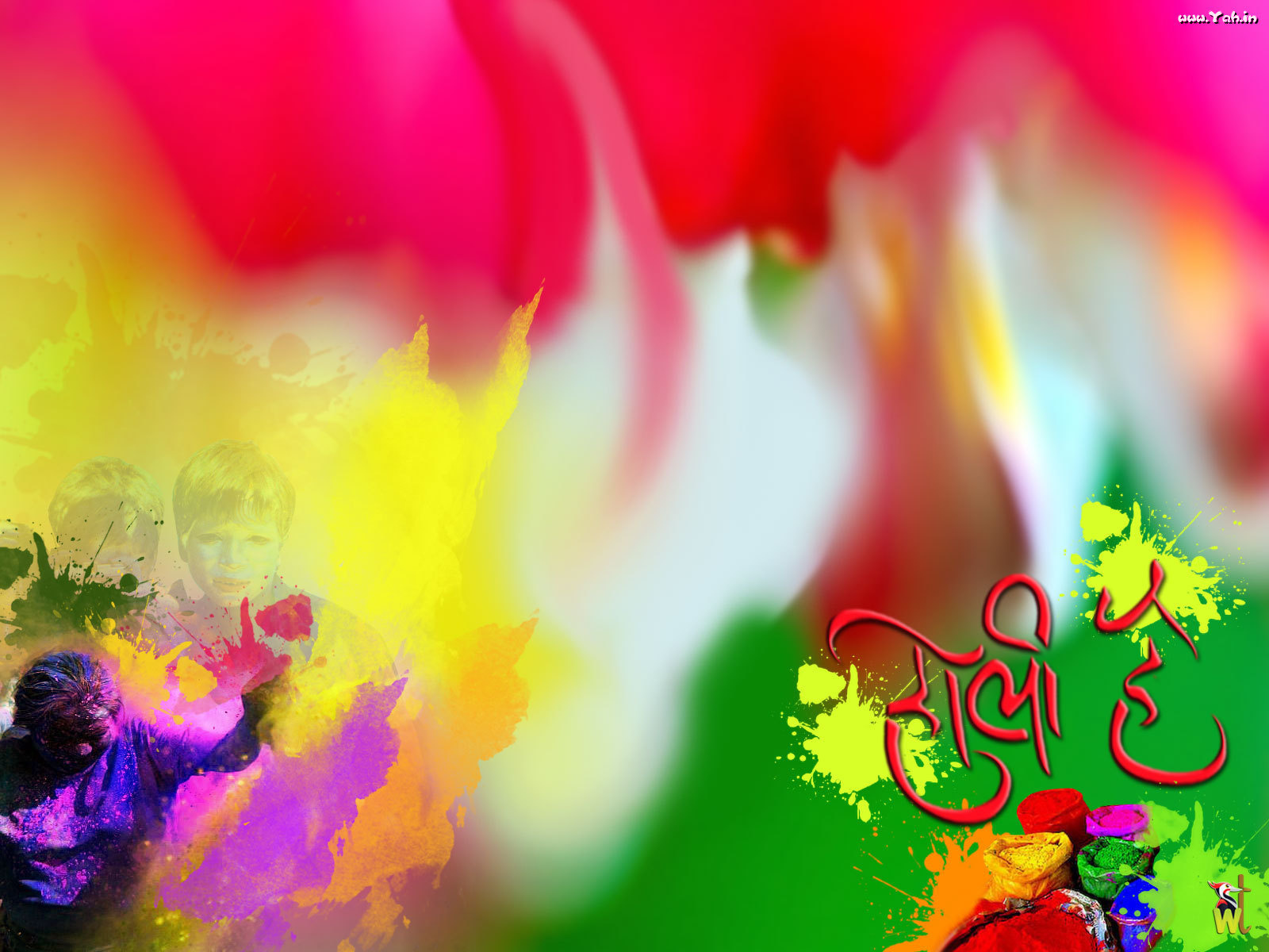 Colourful Holi Desktop Photos Free Download in HD
