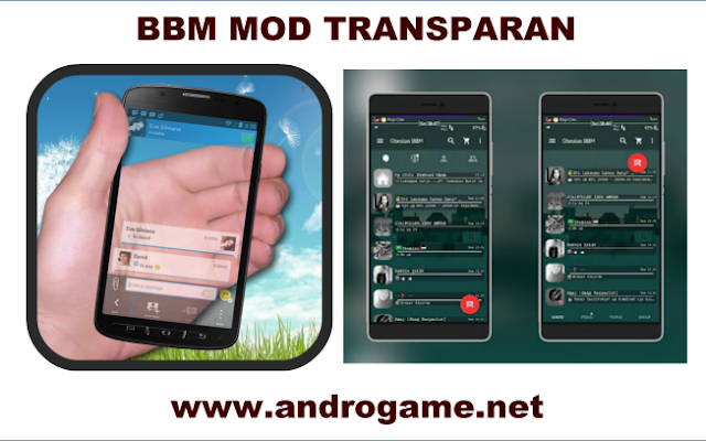BBM Mod Transparan Apk