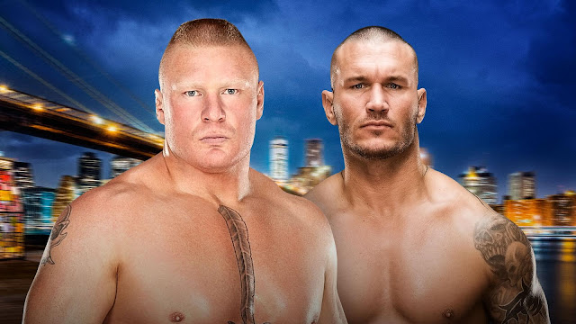 Brock Lesnar contre Randy Orton