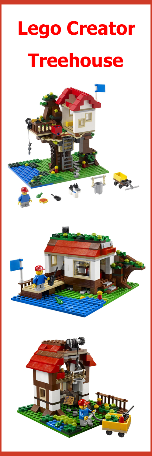 Lego Creator Tree House Set