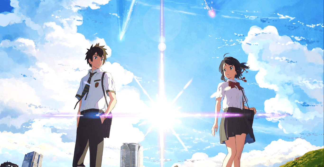 "Your name HD ( with movie ost ""なんでもないや"" ) [Wallpaper Engine Anime]"