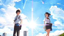 """Your name HD ( with movie ost """"なんでもないや"""" ) [Wallpaper Engine Anime]"""