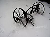 snijeg Gažul Dol  otok Brač slike