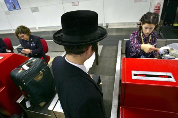 Judío en Aeropuerto