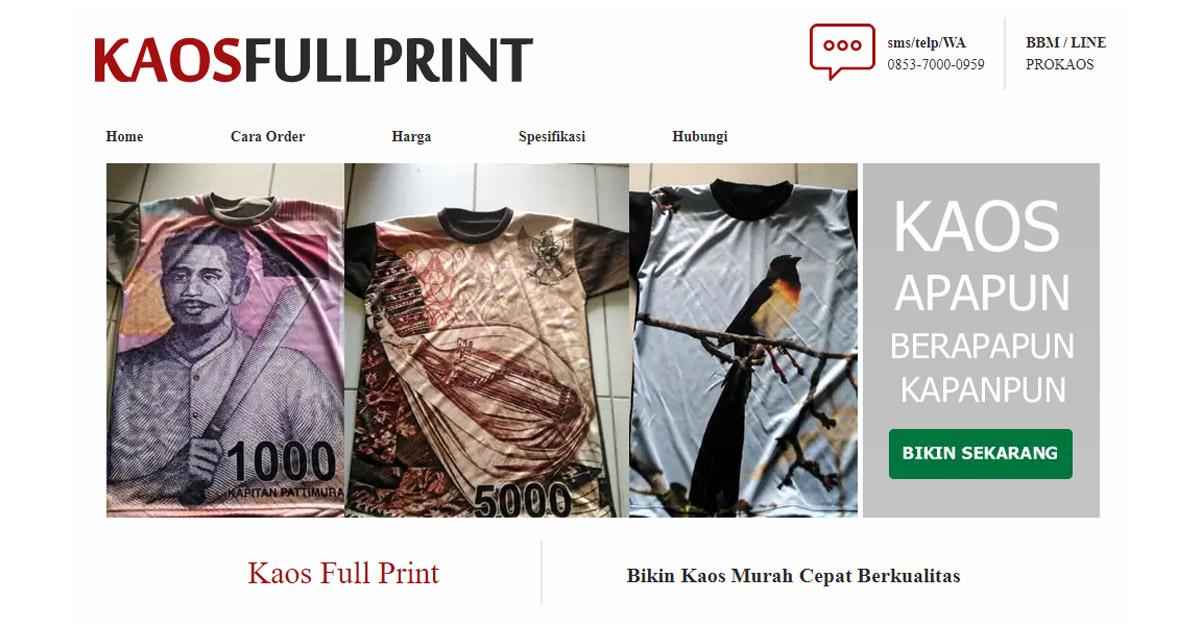 Bikin Kaos Full Print Satuan Murah di kaosfullprint.com