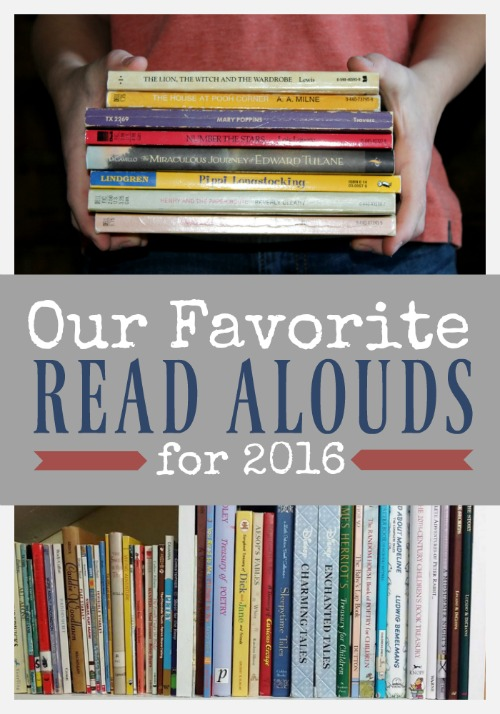 Here's a list of our top 10 books we read as a family in 2016