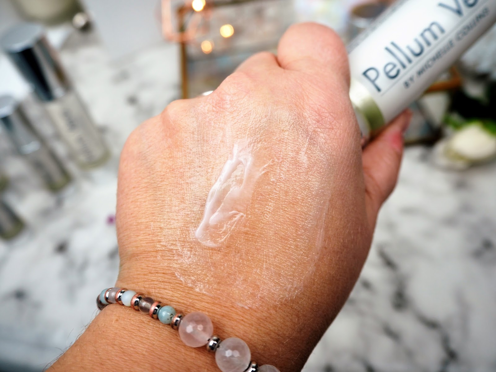 Pellum Vero Day Cream Swatch