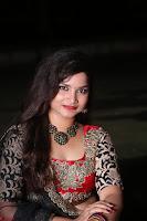 Sirisha Dasari in Red Ghagra Backless Choli ~  037.JPG