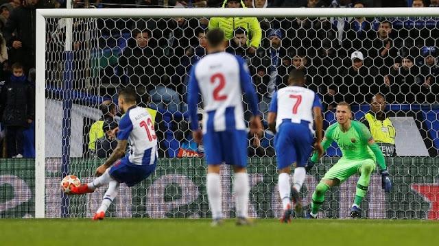 Hasil Liga Champions: Porto Singkirkan Roma di Laga 120 Menit