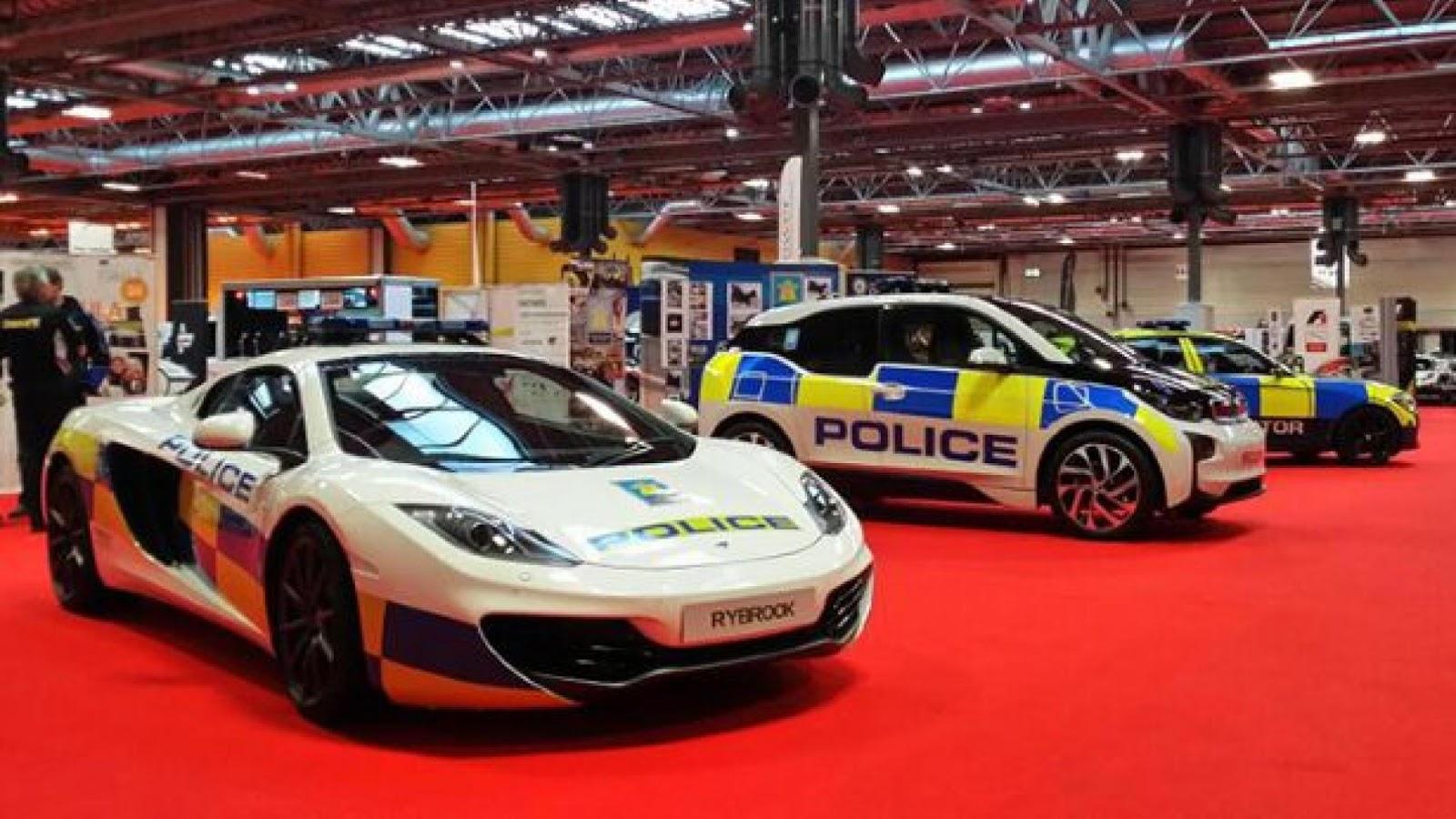 UK police McLaren 12C