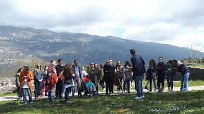 Συναρπαστική ξενάγηση στο Κάστρο Ιωαννίνων από μαθητές