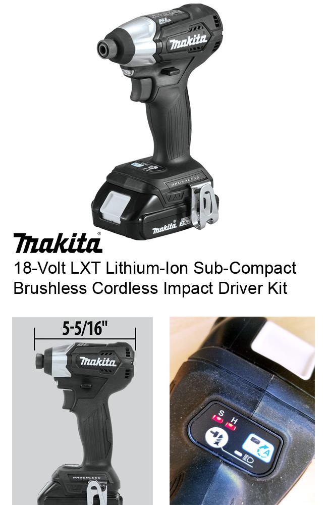 black makita impact driver