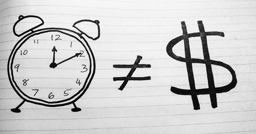 The Time Is Not Money