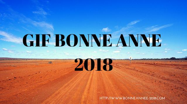 gif animé bonne année 2018