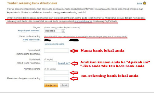 Cara Daftar Paypal Langkah 11