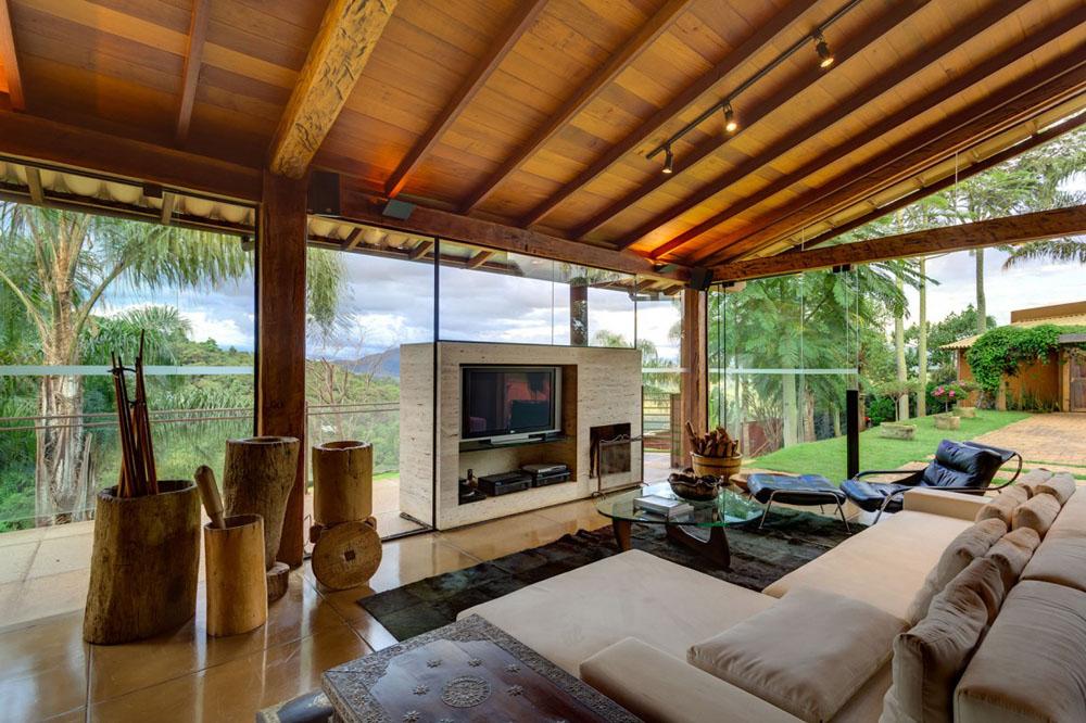50 Desain Dingklik Dan Sofa Ruang Tamu Minimalis Modern