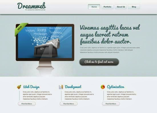 How to Code a Clean Website Template in HTML5 & CSS3