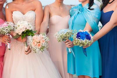 bouquet damigelle sposa foto