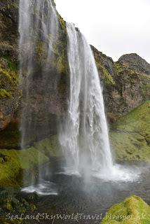 冰島, Iceland, Seljalandsfoss 瀑布