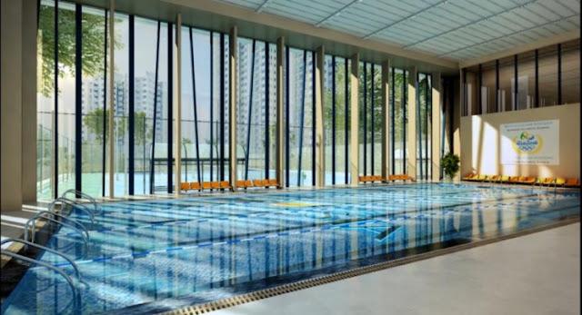 Bể bơi tại dự án The Vesta