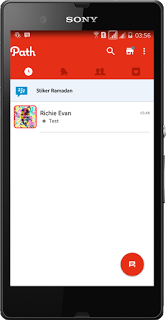 BBM MOD Path Theme V2.13.1.14 APK - BBM MOD Android Terbaru