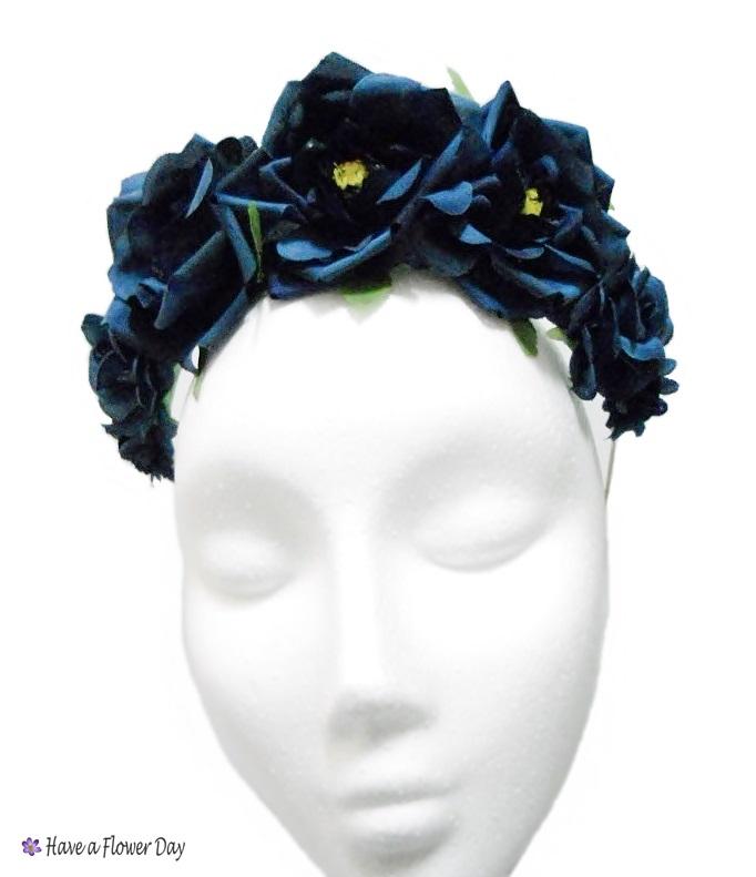 novísimo selección mejor autentico sitio autorizado Have a Flower Day - HFD: Corona Flores Azul Oscuro